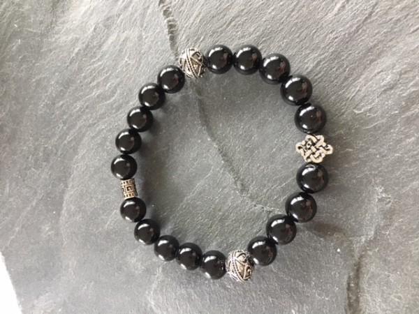Armband schwarz onyx