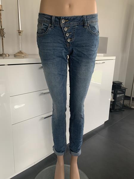 Buena Vista Malibu Stretch Denim Jeans - light stone