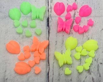 hochwertige Kerzenfarbe 10g in 4 neon Farben zur Auswahl